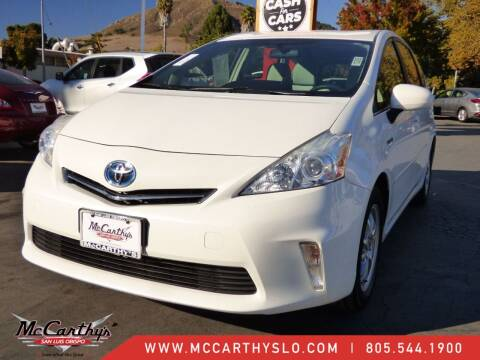 2013 Toyota Prius v for sale at McCarthy Wholesale in San Luis Obispo CA