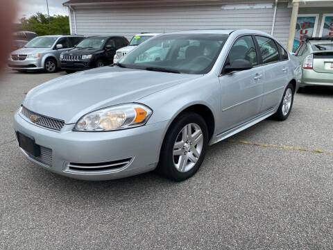 2012 Chevrolet Impala for sale at Capital Auto Sales in Providence RI
