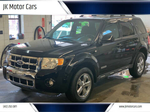 2008 Ford Escape for sale at JK Motor Cars in Pittsburgh PA
