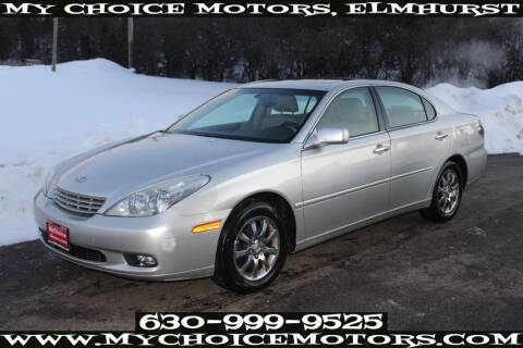 2004 Lexus ES 330 for sale at Your Choice Autos - My Choice Motors in Elmhurst IL