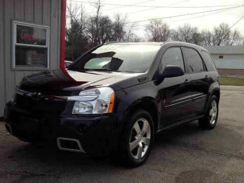 2008 Chevrolet Equinox for sale at Midwest Auto & Truck 2 LLC in Mansfield OH
