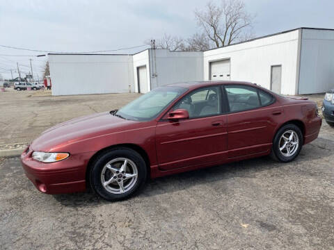 2003 Pontiac Grand Prix for sale at Bruce Kunesh Auto Sales Inc in Defiance OH