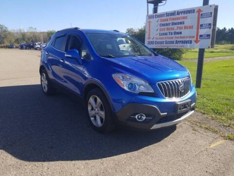 2016 Buick Encore for sale at Sensible Sales & Leasing in Fredonia NY