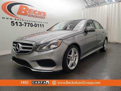 2014 Mercedes-Benz E-Class for sale at Becks Auto Group in Mason OH