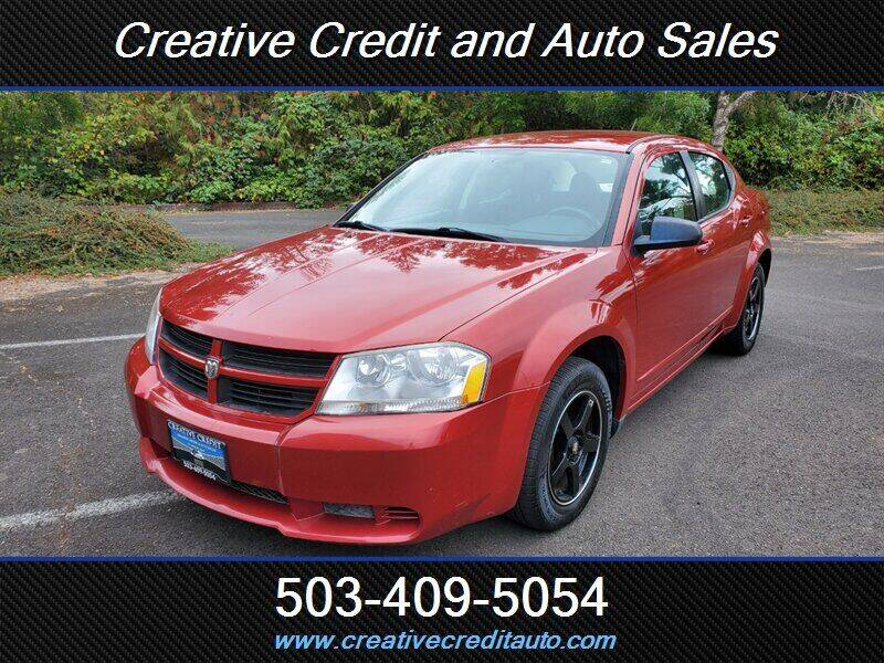 2008 Dodge Avenger for sale at Creative Credit & Auto Sales in Salem OR
