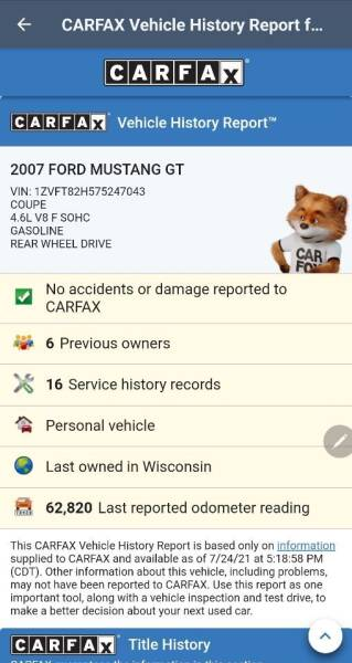 2007 Ford Mustang for sale at Advantage Auto Sales & Imports Inc in Loves Park IL