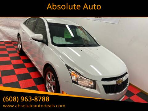 2012 Chevrolet Cruze for sale at Absolute Auto in Baraboo WI
