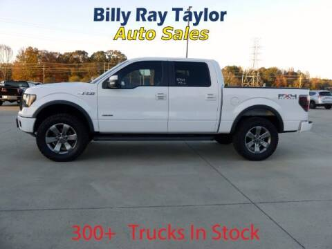 2012 Ford F-150 for sale at Billy Ray Taylor Auto Sales in Cullman AL