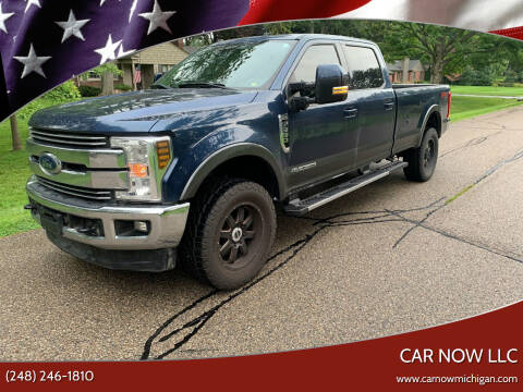 2018 Ford F-350 Super Duty for sale at Car Now LLC in Madison Heights MI