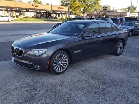 2011 BMW 7 Series for sale at AUTOSAVIN in Elmhurst IL