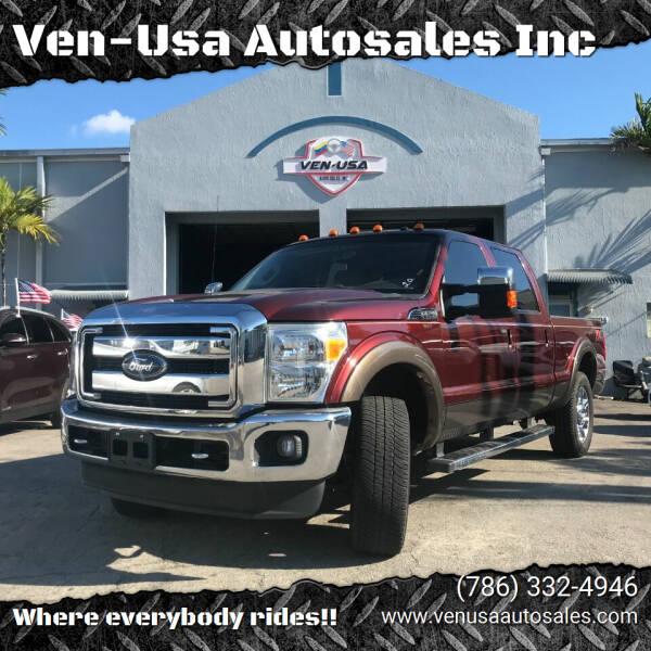 2015 Ford F-250 Super Duty for sale at Ven-Usa Autosales Inc in Miami FL