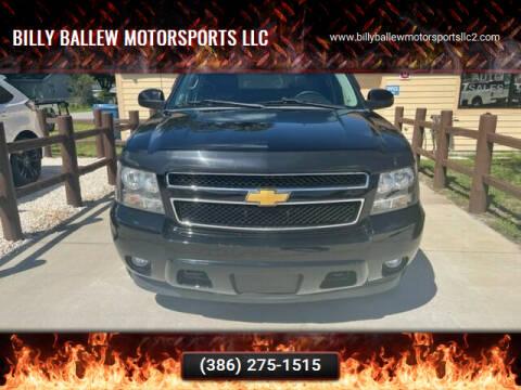 2013 Chevrolet Avalanche for sale at Billy Ballew Motorsports LLC in Daytona Beach FL