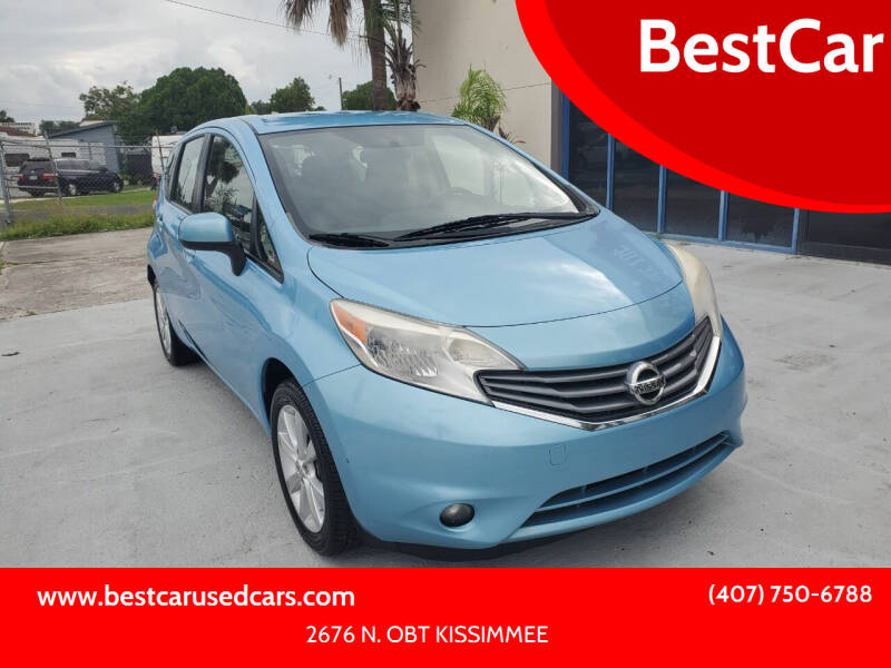 2014 Nissan Versa Note for sale at BestCar in Kissimmee FL