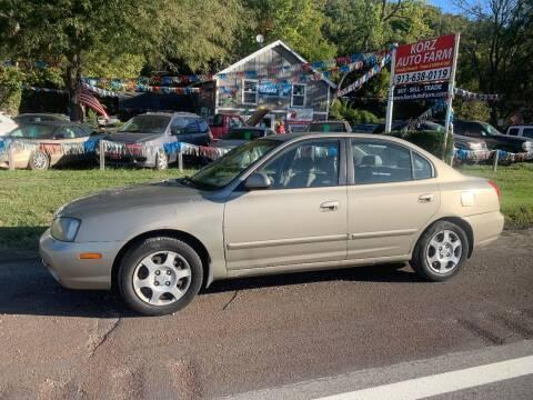 2003 Hyundai Elantra for sale at Korz Auto Farm in Kansas City KS