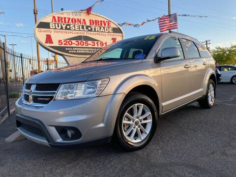 2015 Dodge Journey for sale at Arizona Drive LLC in Tucson AZ