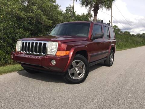 2007 Jeep Commander for sale at VICTORY LANE AUTO SALES in Port Richey FL