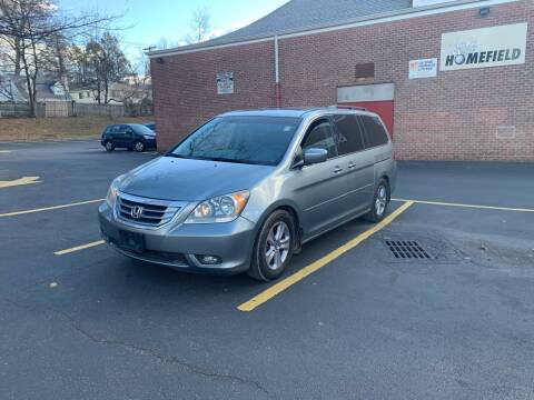 2009 Honda Odyssey for sale at White River Auto Sales in New Rochelle NY