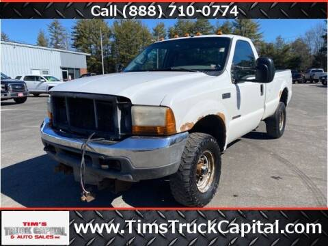 2000 Ford F-350 Super Duty for sale at TTC AUTO OUTLET/TIM'S TRUCK CAPITAL & AUTO SALES INC ANNEX in Epsom NH