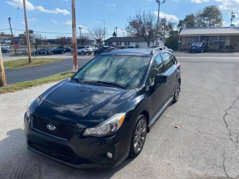 2013 Subaru Impreza for sale at Auto Hub in Grandview MO