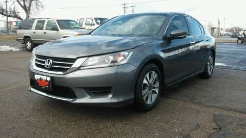 2013 Honda Accord for sale at Motor City Idaho in Pocatello ID