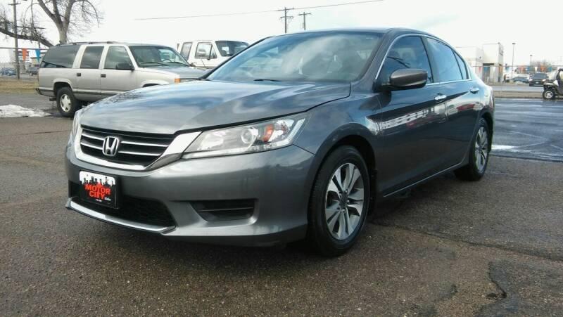 2013 Honda Accord for sale at Motor City Idaho in Pocatello ID