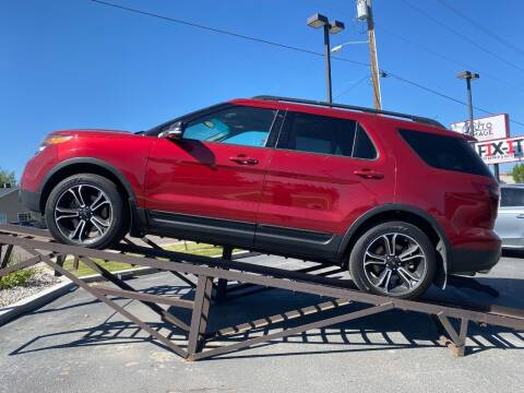 2015 Ford Explorer for sale at Auto Image Auto Sales Chubbuck in Chubbuck ID
