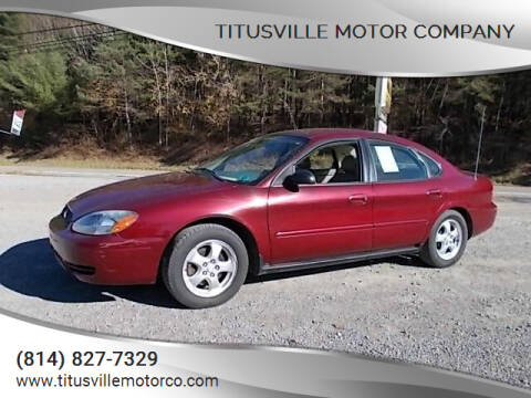 2004 Ford Taurus for sale at Titusville Motor Company in Titusville PA