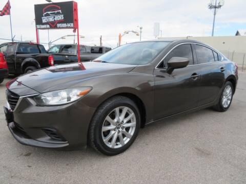 2016 Mazda MAZDA6 for sale at Moving Rides in El Paso TX