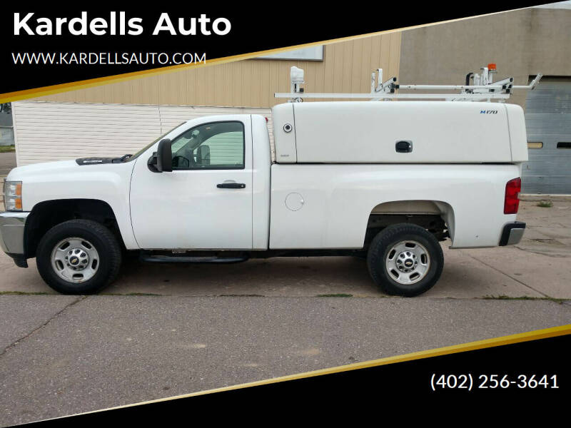 2011 Chevrolet Silverado 2500HD for sale at Kardells Auto in Laurel NE
