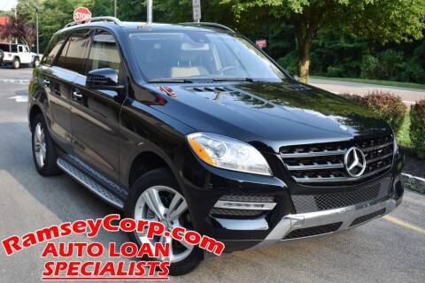 2015 Mercedes-Benz M-Class for sale at Ramsey Corp. in West Milford NJ