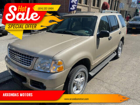 2005 Ford Explorer for sale at ARXONDAS MOTORS in Yonkers NY