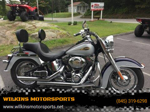 2009 Harley-Davidson Softail Deluxe for sale at WILKINS MOTORSPORTS in Brewster NY