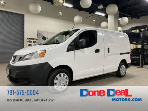 2017 Nissan NV200 for sale at DONE DEAL MOTORS in Canton MA