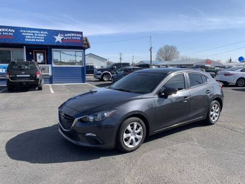 2015 Mazda MAZDA3 for sale at All American Auto Sales LLC in Nampa ID