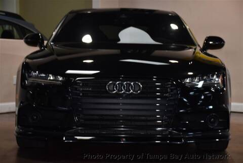 2017 Audi A7 for sale at Tampa Bay AutoNetwork in Tampa FL