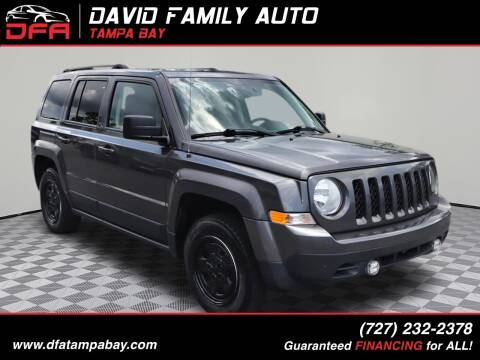 2016 Jeep Patriot for sale at David Family Auto in New Port Richey FL