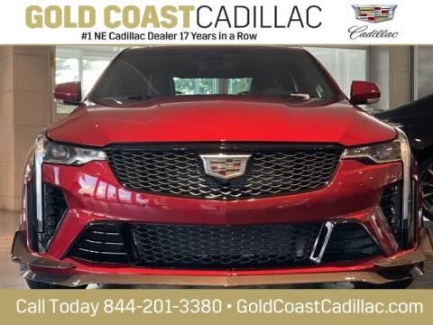 2022 Cadillac CT4-V for sale at Gold Coast Cadillac in Oakhurst NJ