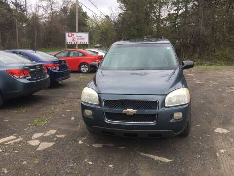 2006 Chevrolet Uplander for sale at B & B GARAGE LLC in Catskill NY