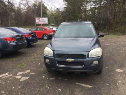 2006 Chevrolet Uplander for sale at B & B GARAGE LLC in Catskill NY