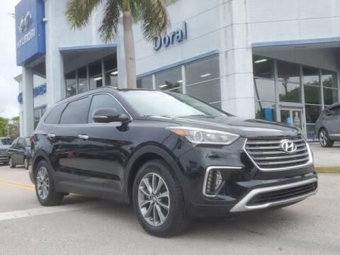 2018 Hyundai Santa Fe for sale at DORAL HYUNDAI in Doral FL