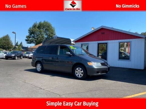 2004 Honda Odyssey for sale at Cars To Go in Portland OR
