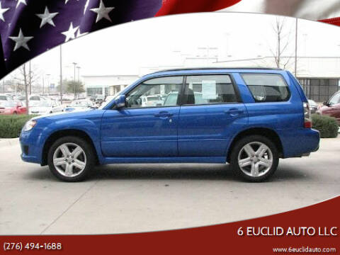 2007 Subaru Forester for sale at 6 Euclid Auto LLC in Bristol VA