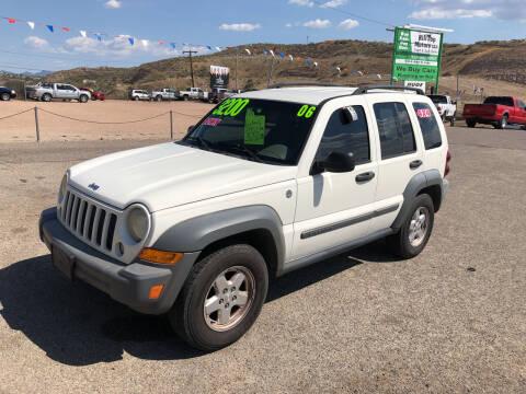 2006 Jeep Liberty for sale at Hilltop Motors in Globe AZ