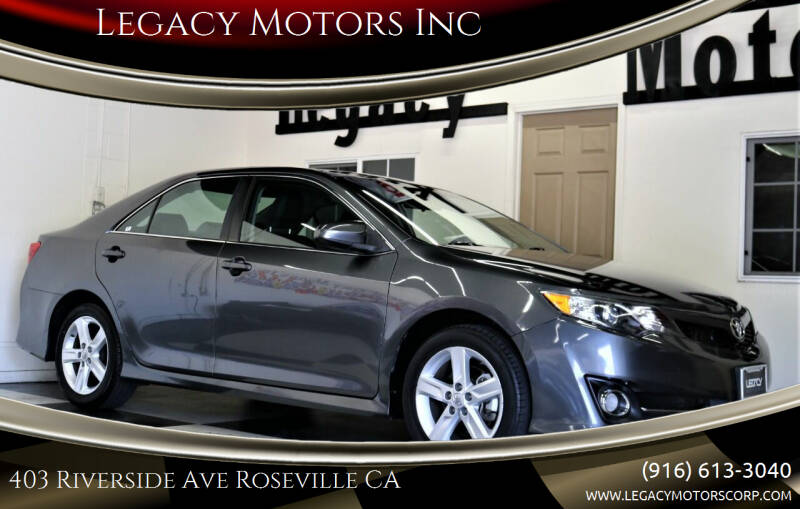 2014 Toyota Camry for sale at Legacy Motors Inc in Roseville CA