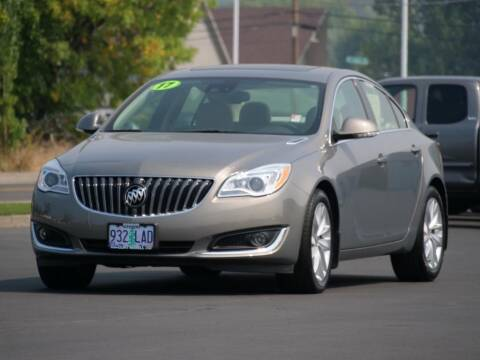2017 Buick Regal for sale at CLINT NEWELL USED CARS in Roseburg OR