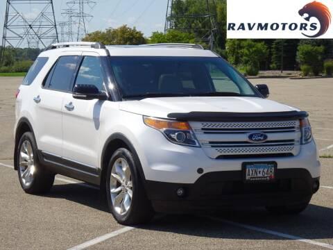 2014 Ford Explorer for sale at RAVMOTORS in Burnsville MN