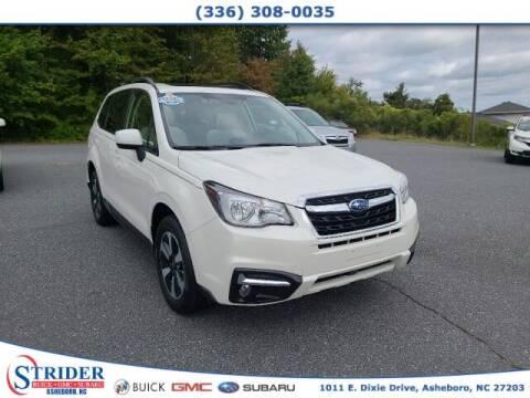2018 Subaru Forester for sale at STRIDER BUICK GMC SUBARU in Asheboro NC