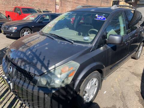 2005 Nissan Quest for sale at Rallye  Motors inc. in Newark NJ