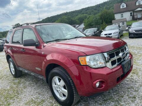 2008 Ford Escape for sale at Ron Motor Inc. in Wantage NJ