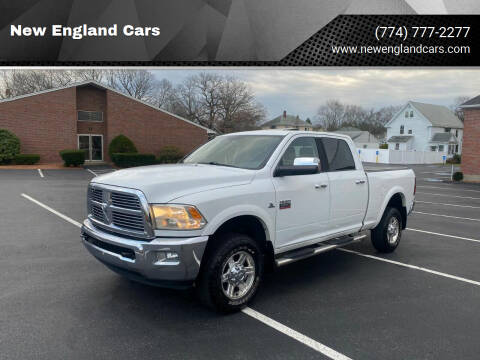 2012 RAM Ram Pickup 2500 for sale at New England Cars in Attleboro MA
